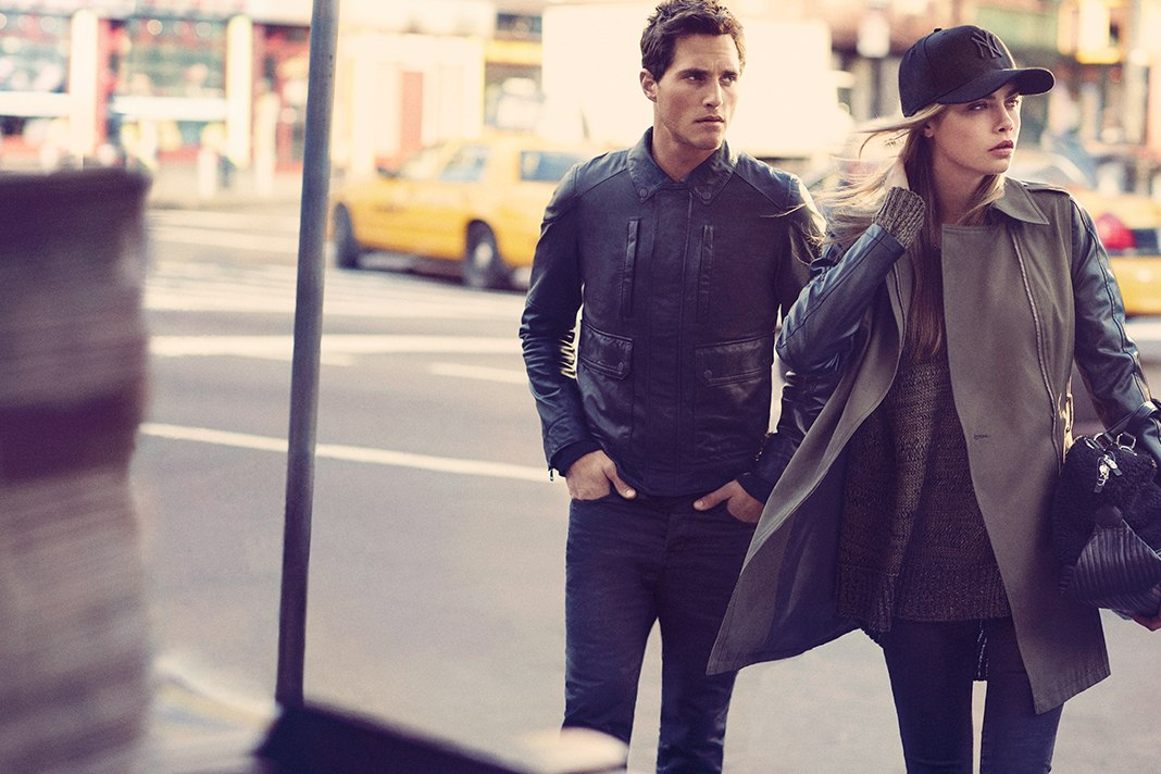 Cara Delevingne for DKNY FW 13.14 Ad Campaign 9