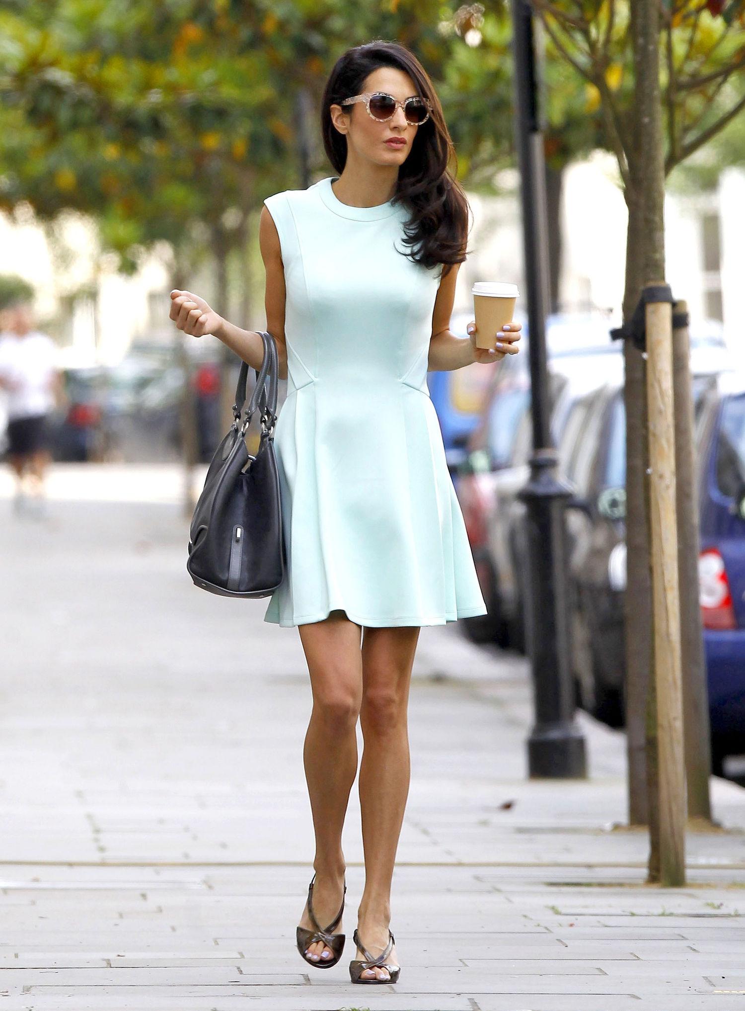 amal-alamuddin-mint-green-dress-outfit-london-main